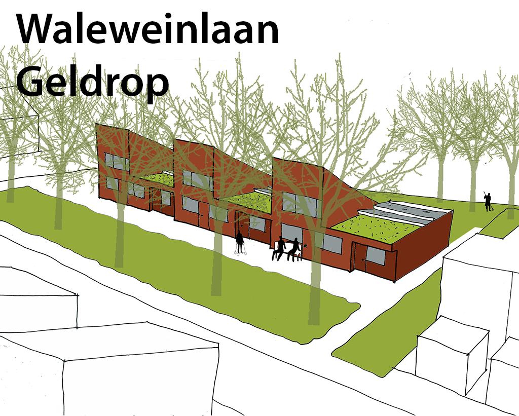 Waleweinlaan Geldrop met tekst